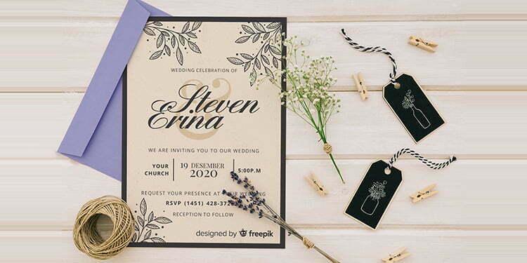 Tips Desain Undangan Pernikahan