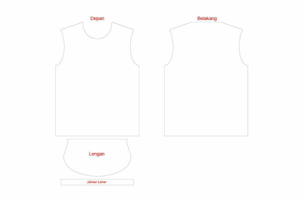 60 Desain Baju Polos Pdf Terbaru